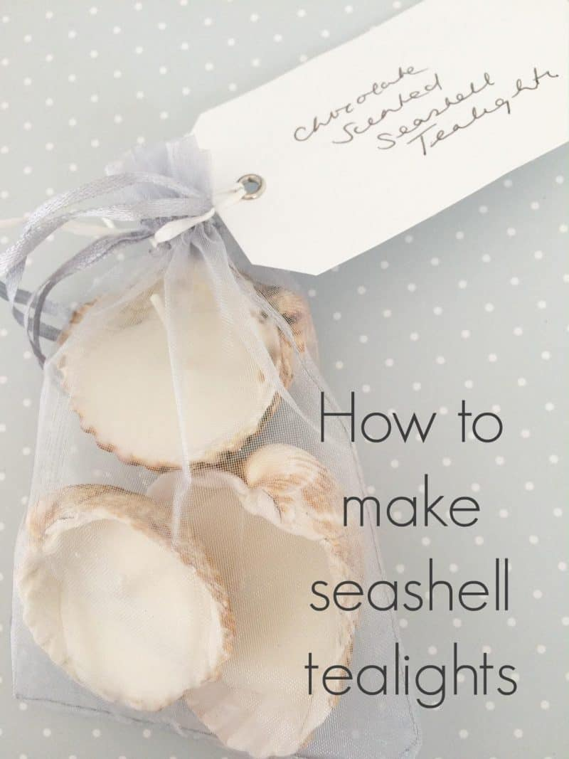 seashell tealights
