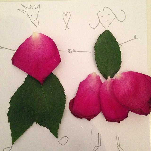 petal art