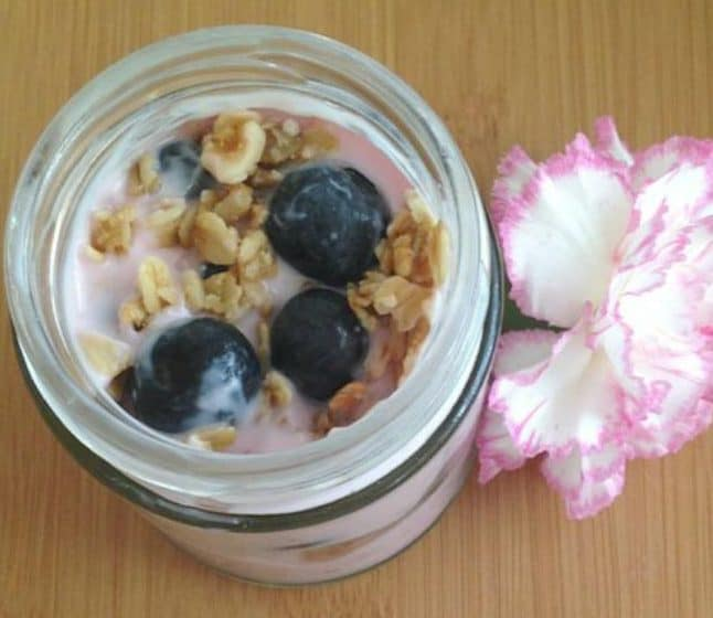 breakfast berry jars