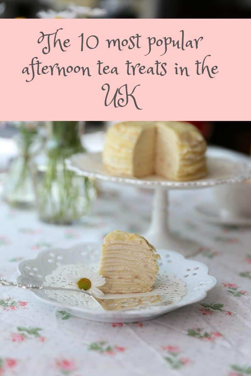 The10 most popular afternoon tea treats in the UK