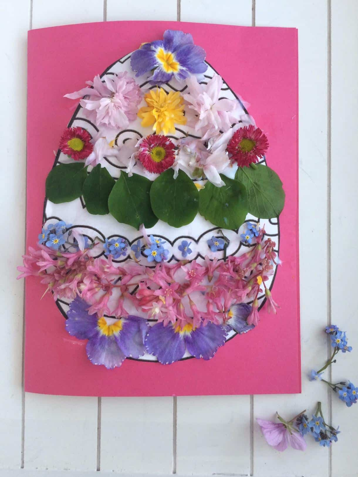Easter nature craft