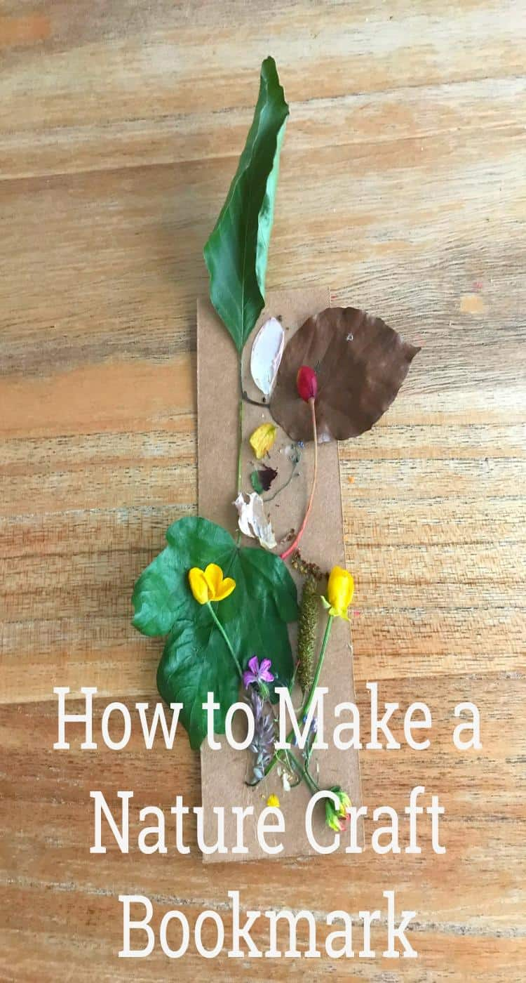 How to Make a Nature Craft Bookmark