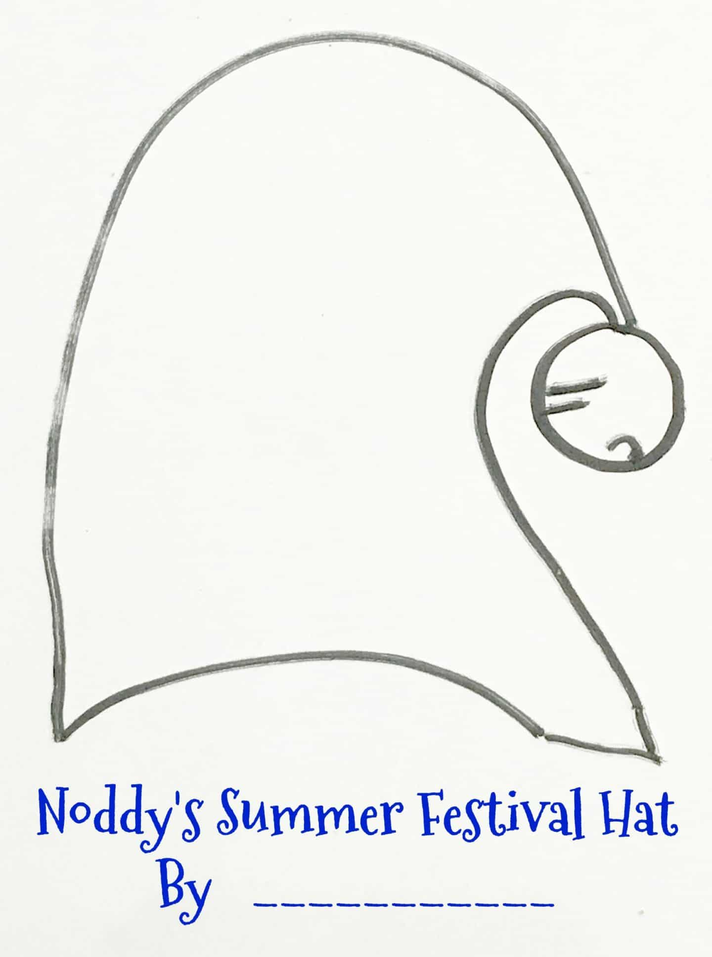 Can you decorate Noddy's Hat ready for the Toytown summer festival? #NoddyChallenge