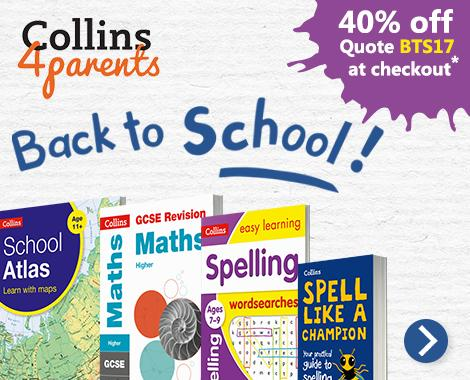 Really Useful Back to School Books from Collins with 40% off