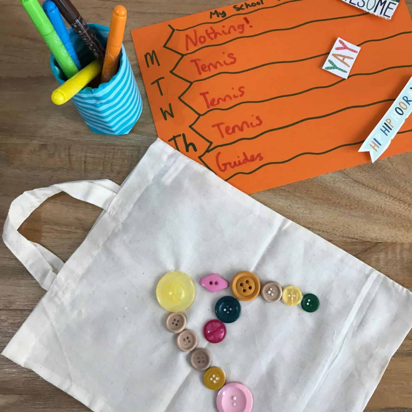 3 simple back to school crafts