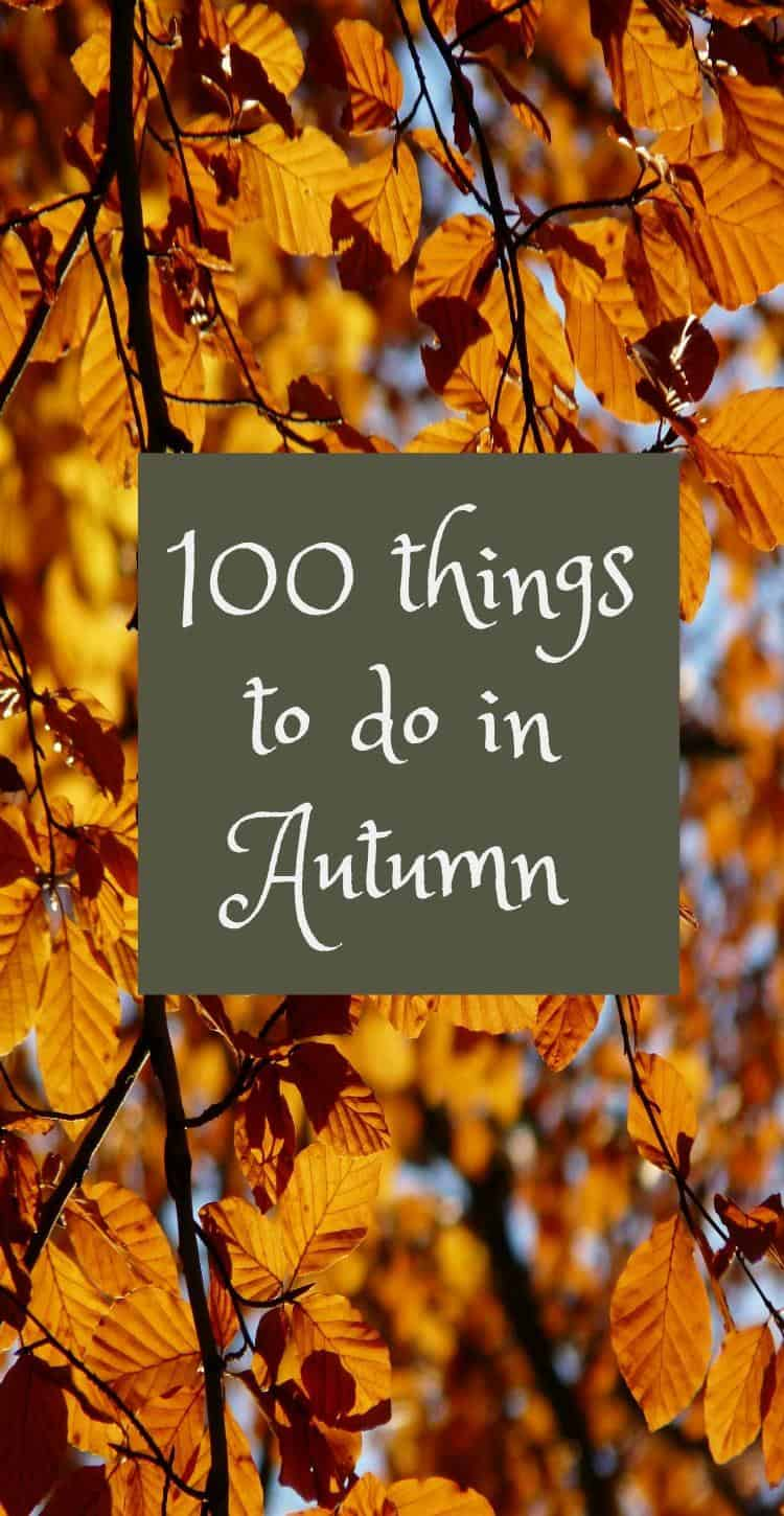 100 family things to do in Autumn on a budget