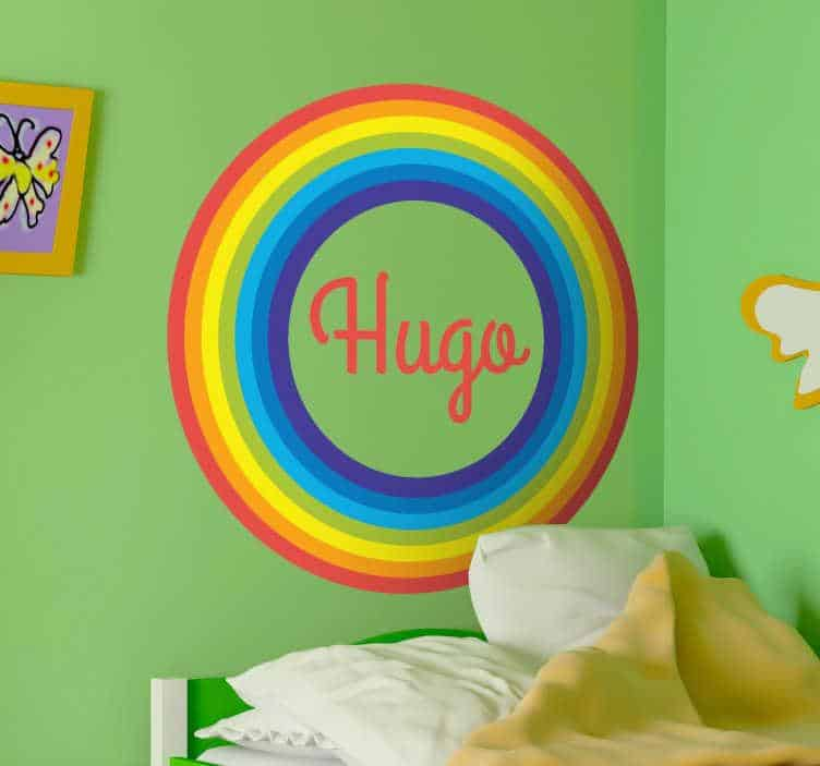 Rainbow Stickers for Wall Decor